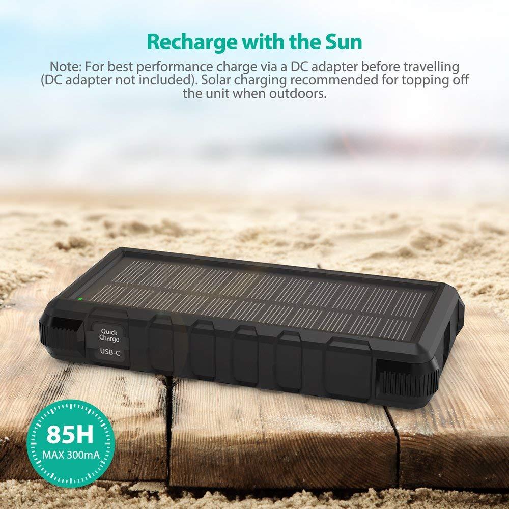RAVPower - Premium Portable Charger, External Battery, USB